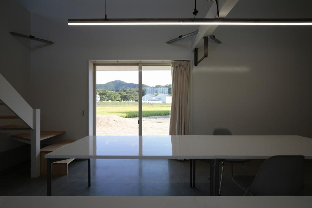 篠山市の小さな家 (キッチンからの景色)