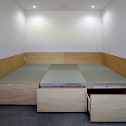 篠山市の小さな家 (居室 畳コーナー)