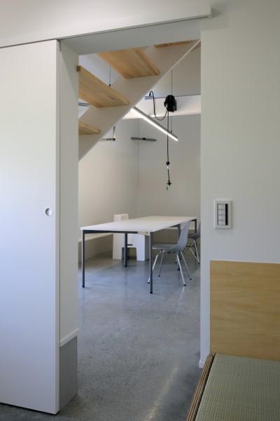 篠山市の小さな家 (居室からLDK)
