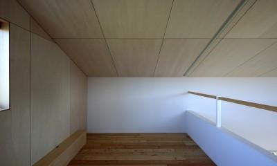 篠山市の小さな家 (寝室)
