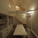 篠山市の小さな家の写真 LDK 夜景