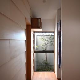 かみいんじきの平屋 (玄関)