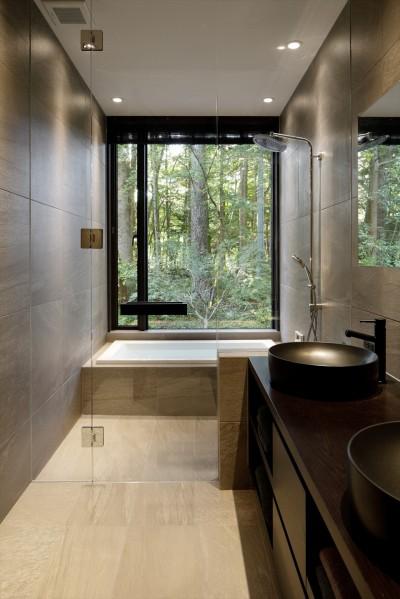 浴室 (ラ・メゾン軽井沢)
