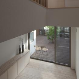 I-HOUSE (玄関)