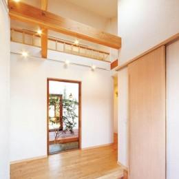 大阪府個人住宅 (玄関)