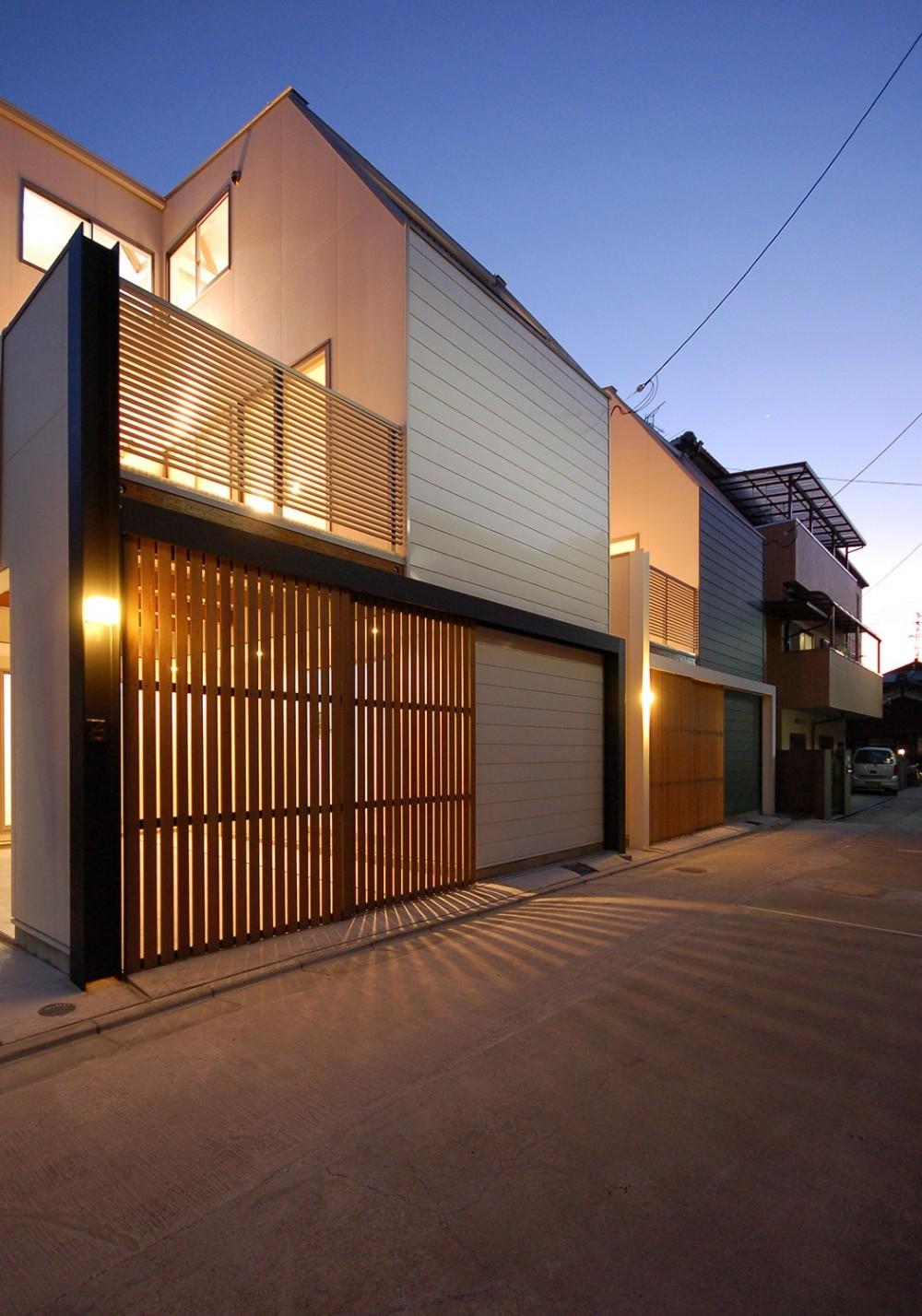 大東の建売住宅 (外観)