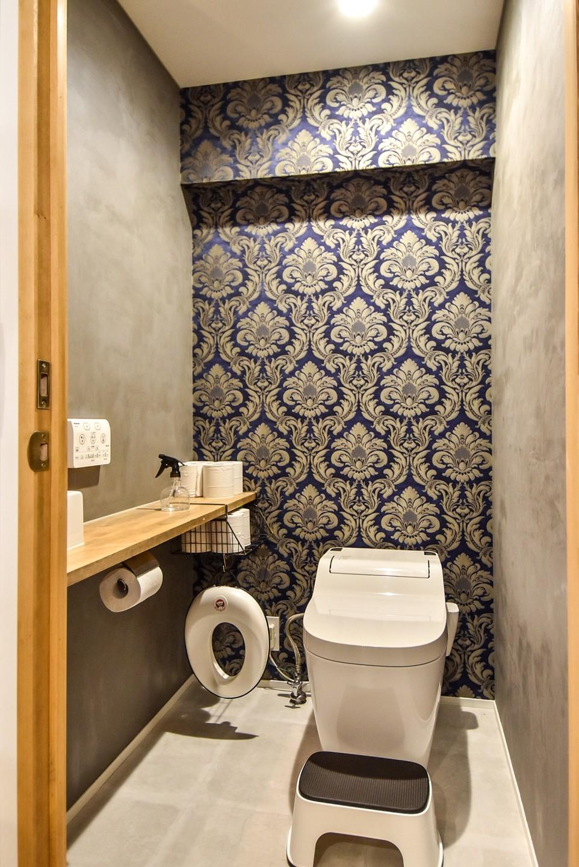 プロセスを彩る家 (トイレ)