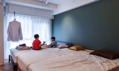 プロセスを彩る家 (寝室)
