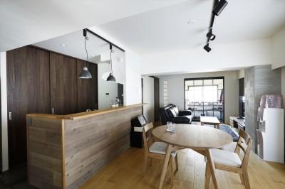 LDK (T邸_cozy stylish room ~こだわりの快適な部屋~)