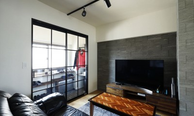 T邸_cozy stylish room ~こだわりの快適な部屋~ (リビング)