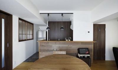 T邸_cozy stylish room ~こだわりの快適な部屋~ (キッチン)