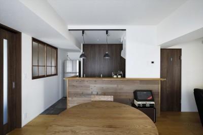 キッチン (T邸_cozy stylish room ~こだわりの快適な部屋~)