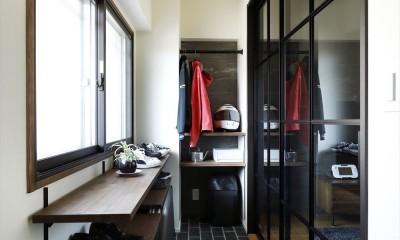 玄関土間|T邸_cozy stylish room ~こだわりの快適な部屋~