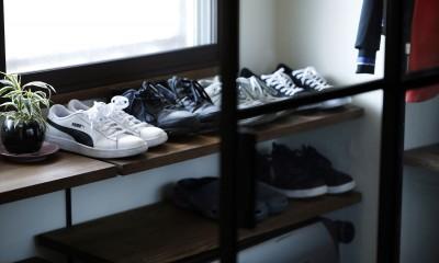 T邸_cozy stylish room ~こだわりの快適な部屋~ (玄関収納)