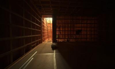 愛知の土壁[工事中] (地下室の造作)