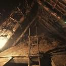 愛知の茅葺き再生[茅葺き]の写真 改修前の茅葺きの小屋裏