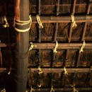 愛知の茅葺き再生[茅葺き]の写真 小屋裏は茅葺き現し仕上げ
