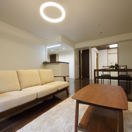 気品あふれる空間へ luxury modern style (リビングダイニング)