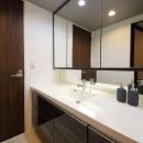 気品あふれる空間へ luxury modern styleの写真 洗面スペース