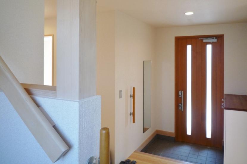 A Houseの部屋 玄関