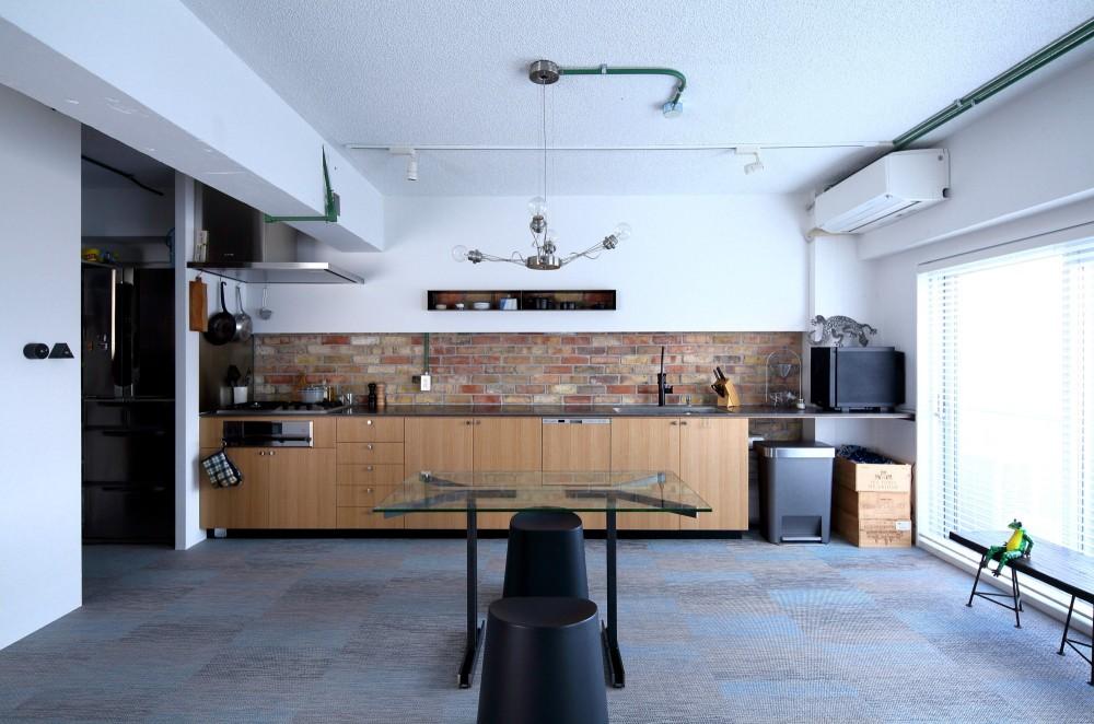 北摂のマンション (W4500のキッチン)