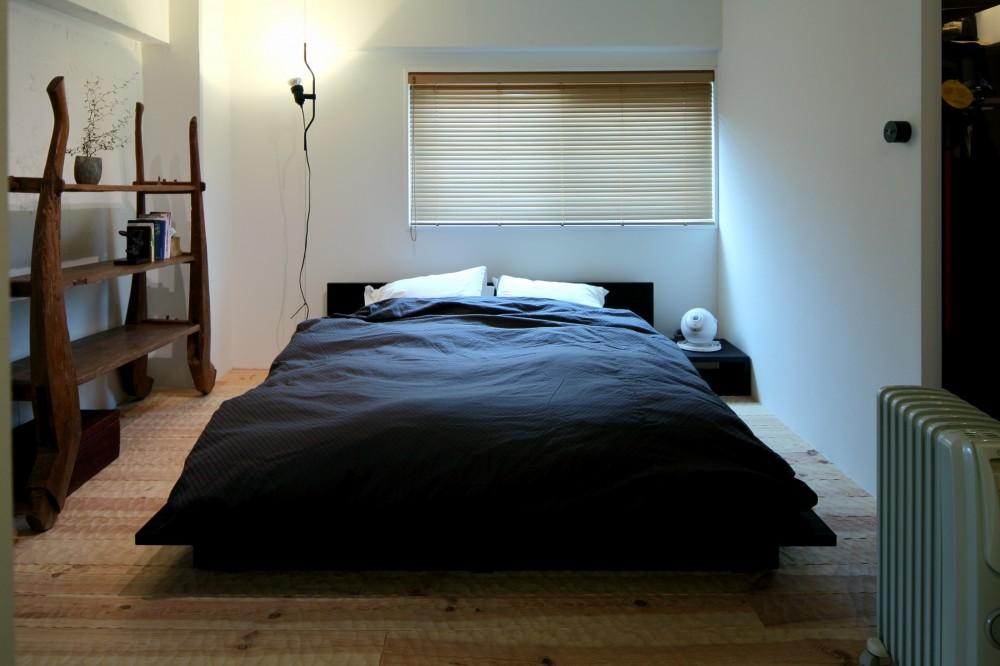 北摂のマンション (寝室)