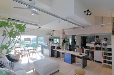 Green Apartment58 (リビング)