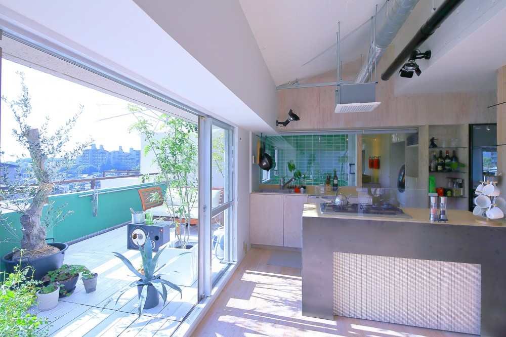 Green Apartment58 (ベランダ)