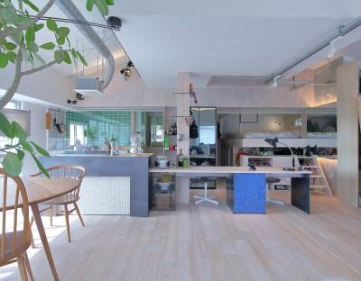 Green Apartment58 (キッチン)