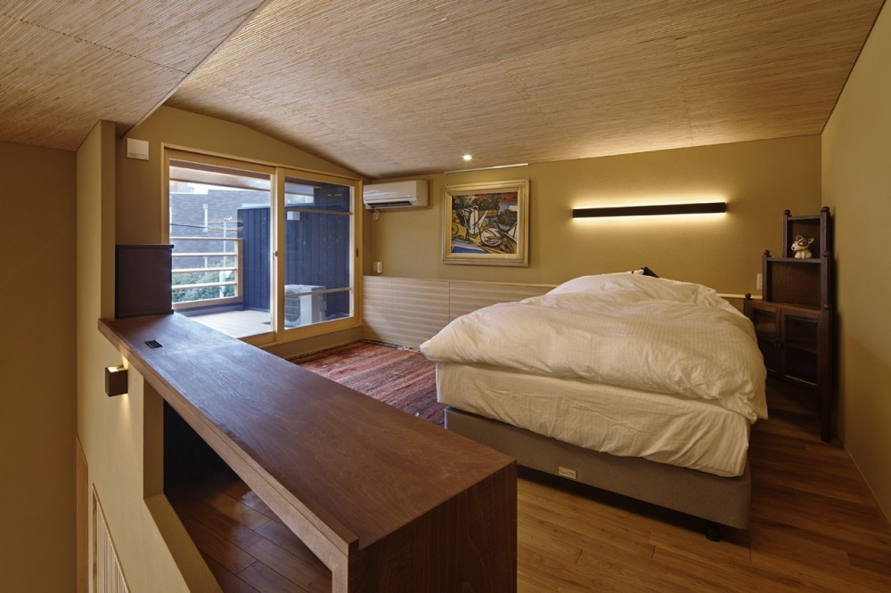 名古屋市A邸 (寝室)