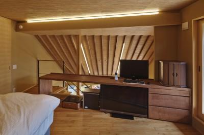 寝室 (名古屋市A邸)