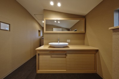 洗面室 (名古屋市A邸)