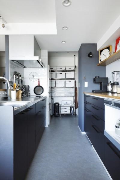 スッキリ片付くキッチン (今まで、イマ、これから)