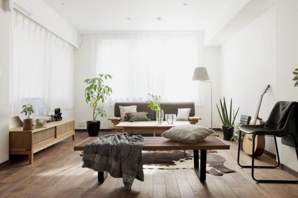 株式会社クロニクル「「中古マンション」のイメージを覆す天然無垢材のリビング~R様邸~」