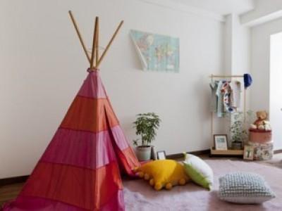 子供室 (「中古マンション」のイメージを覆す天然無垢材のリビング~R様邸~)