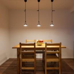 無垢材にホレた夫婦が住まう「料理がしたくなる家」~L様邸~ (ダイニング)