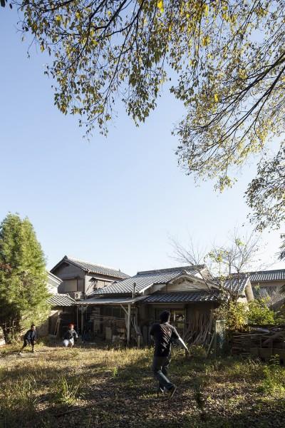 庭 (京田辺のリノベーション)
