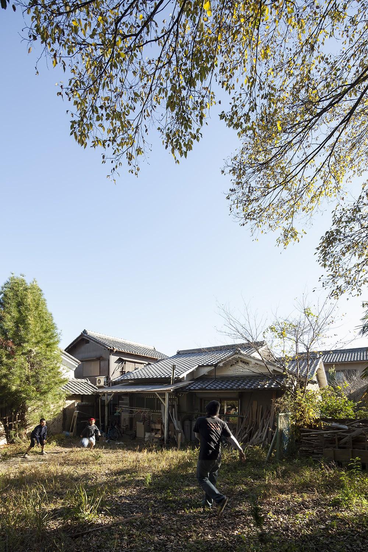 京田辺のリノベーション (庭)