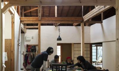 京田辺のリノベーション (リビングダイニング)