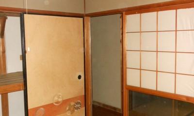 京田辺のリノベーション (和室)