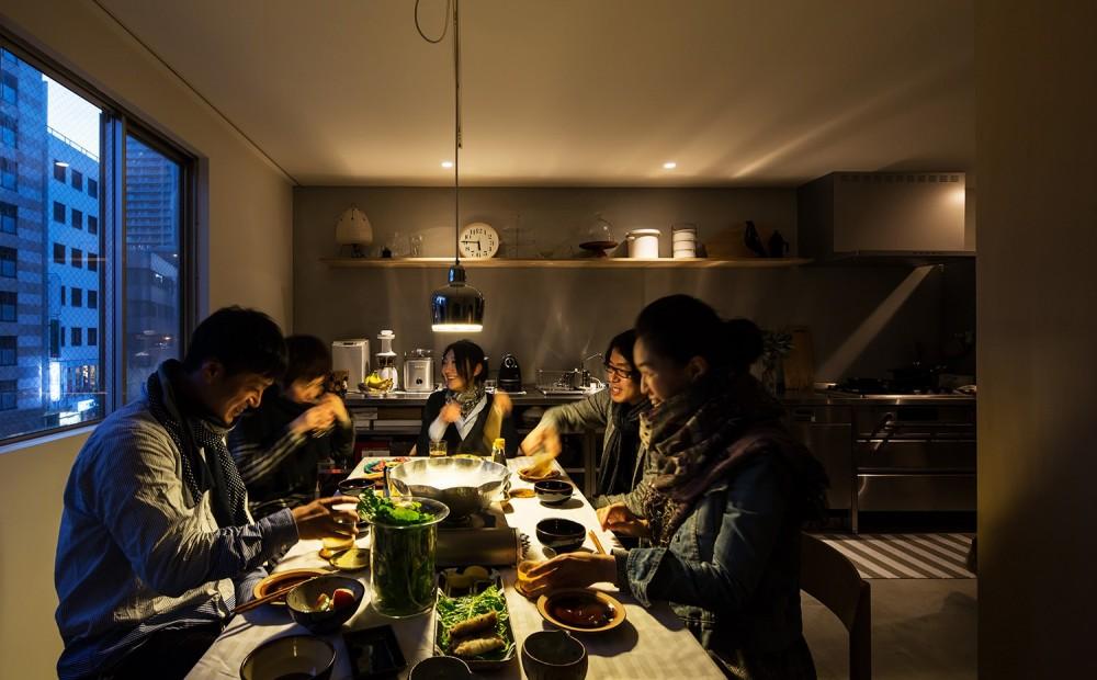 AKAビル (ダイニングキッチン)