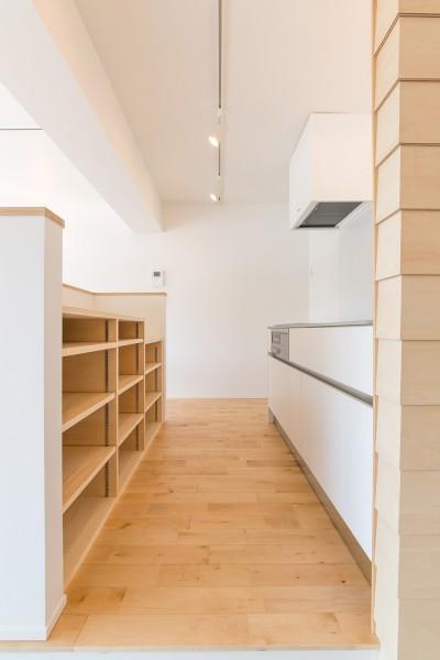 米子のマンションリノベーション (キッチン)