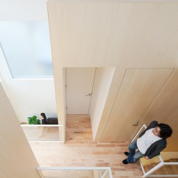 House T (ロフト・二階廊下)