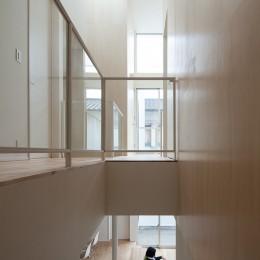 House T (二階廊下)