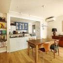 A邸_エンシェント・モダンな暮らしの写真 ダイニング・キッチン