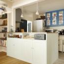 A邸_エンシェント・モダンな暮らしの写真 キッチンカウンター