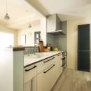 A邸_エンシェント・モダンな暮らしの写真 キッチン