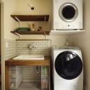 A邸_エンシェント・モダンな暮らしの写真 ランドリールーム