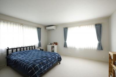 寝室 (A邸_エンシェント・モダンな暮らし)
