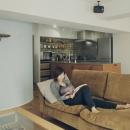 プライベートカフェのような寛ぎの空間